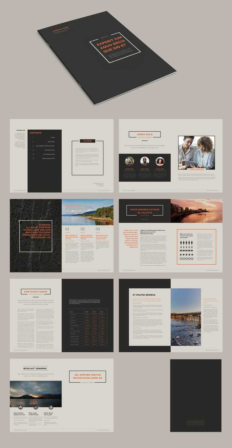 100 Best Indesign Brochure Templates Throughout Brochure Templates Free Download Indesign
