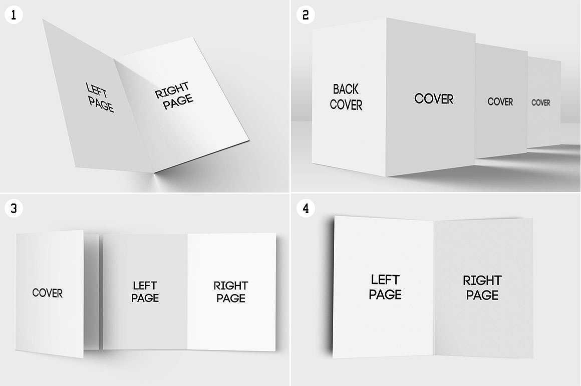 11+ Folded Card Designs & Templates - Psd, Ai | Free In Card Folding Templates Free