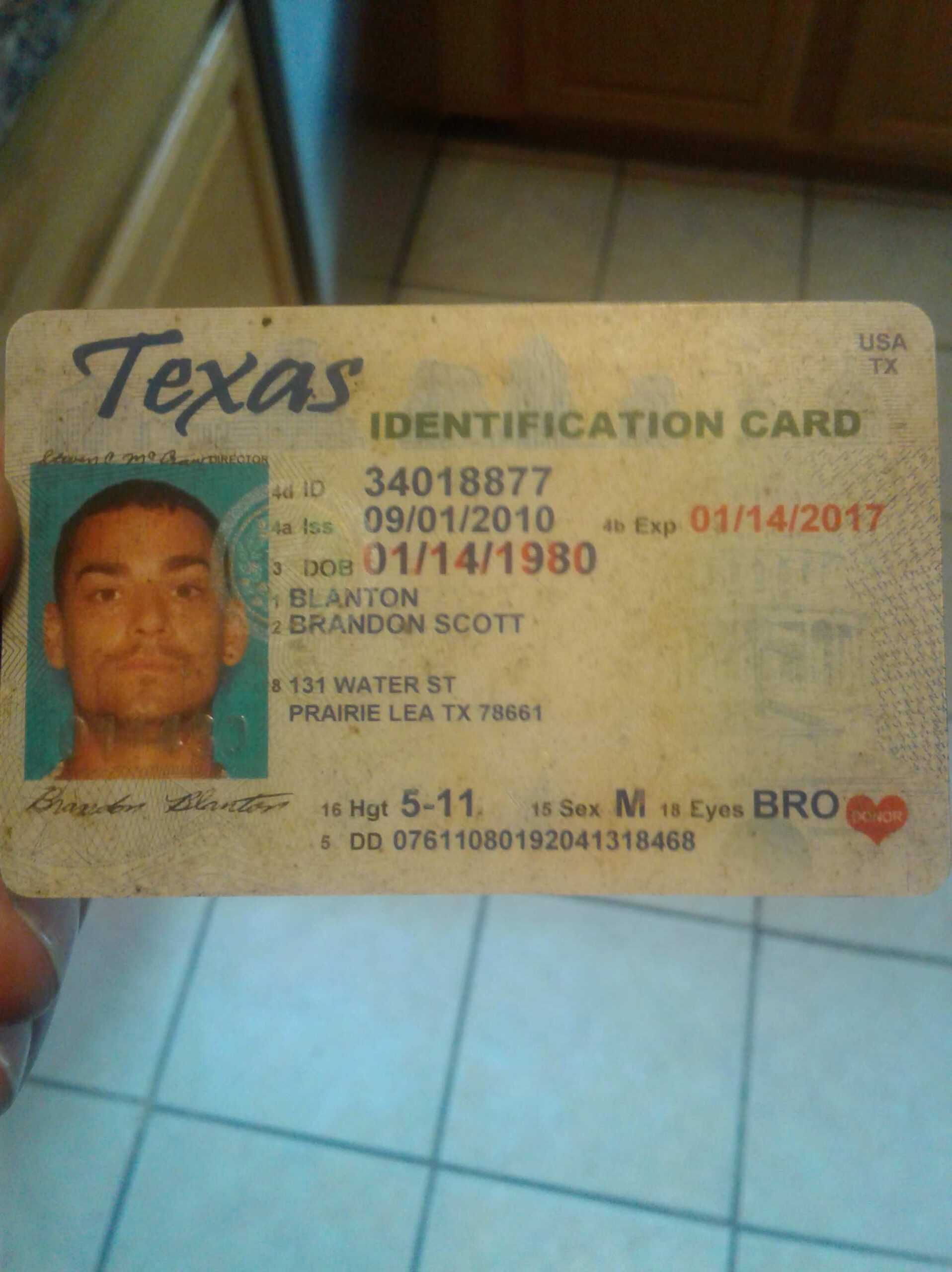 13 Best Texas Id Card Template For Ms Wordtexas Id Card Inside Texas Id Card Template