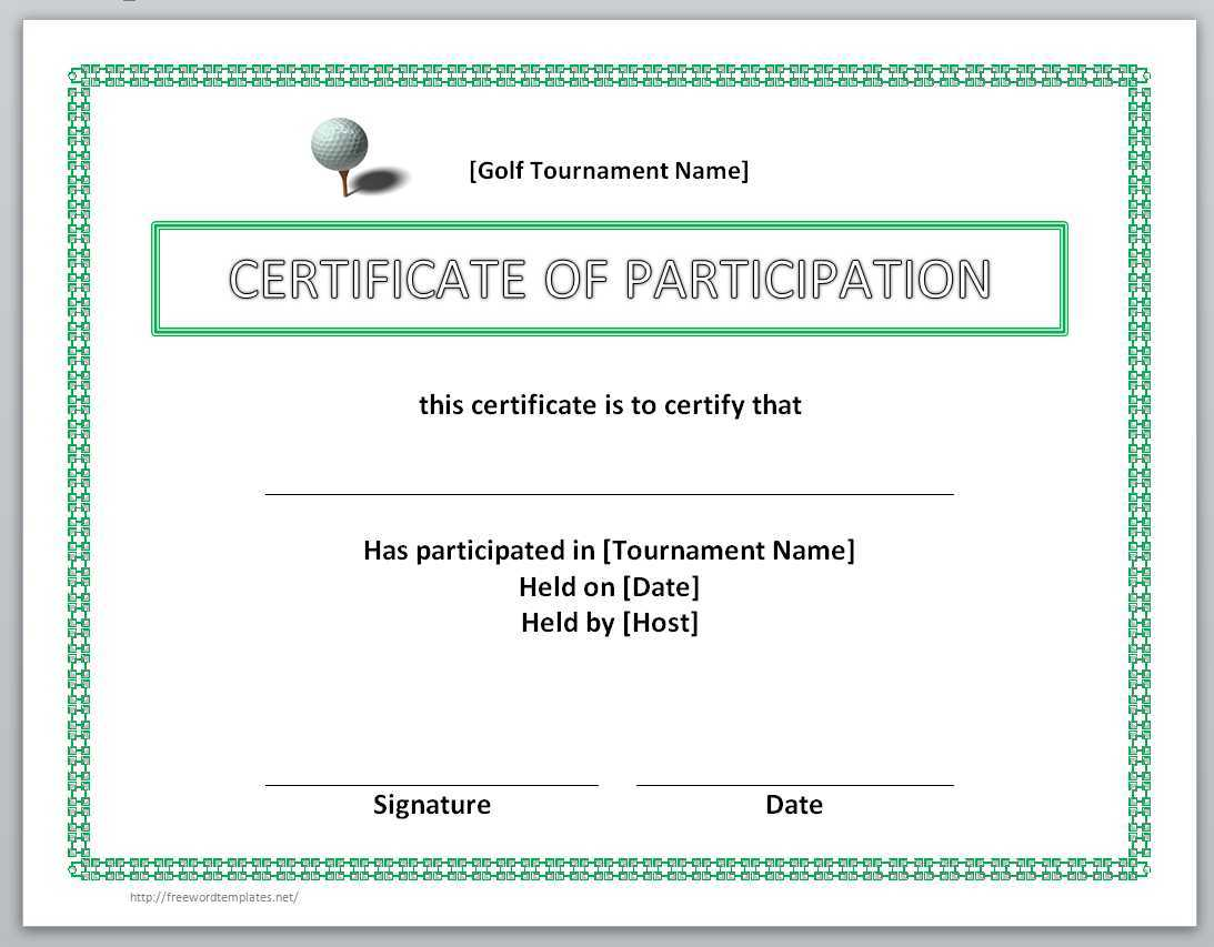 13 Free Certificate Templates For Word » Officetemplate Inside Birth Certificate Template For Microsoft Word