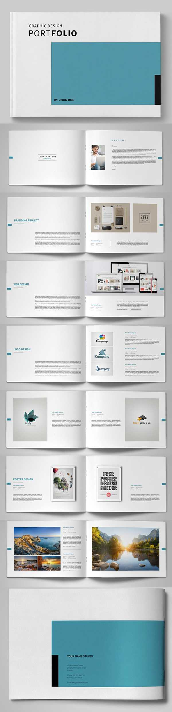 20 New Professional Catalog Brochure Templates | Design Throughout Brochure Templates Free Download Indesign