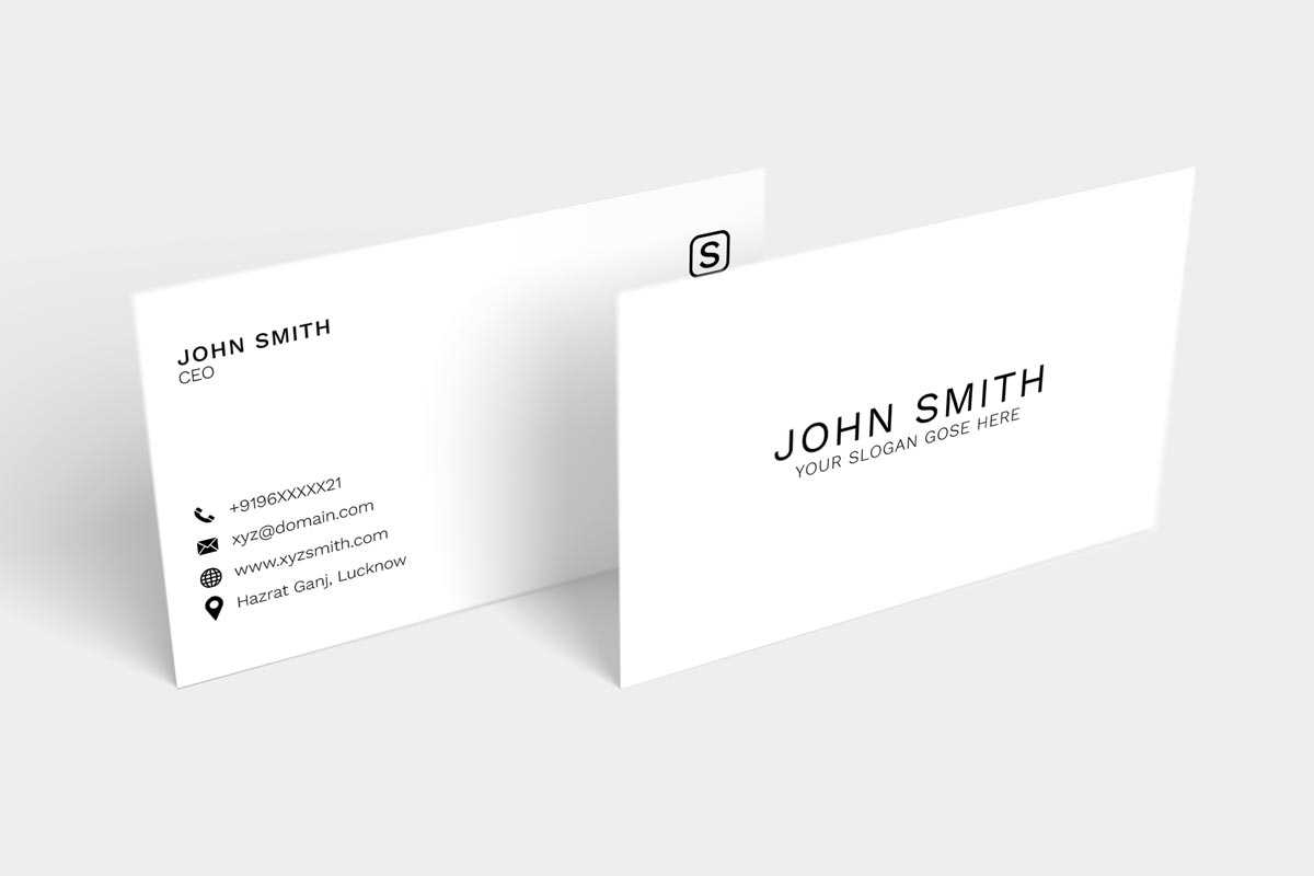 200 Free Business Cards Psd Templates - Creativetacos Throughout Name Card Template Photoshop