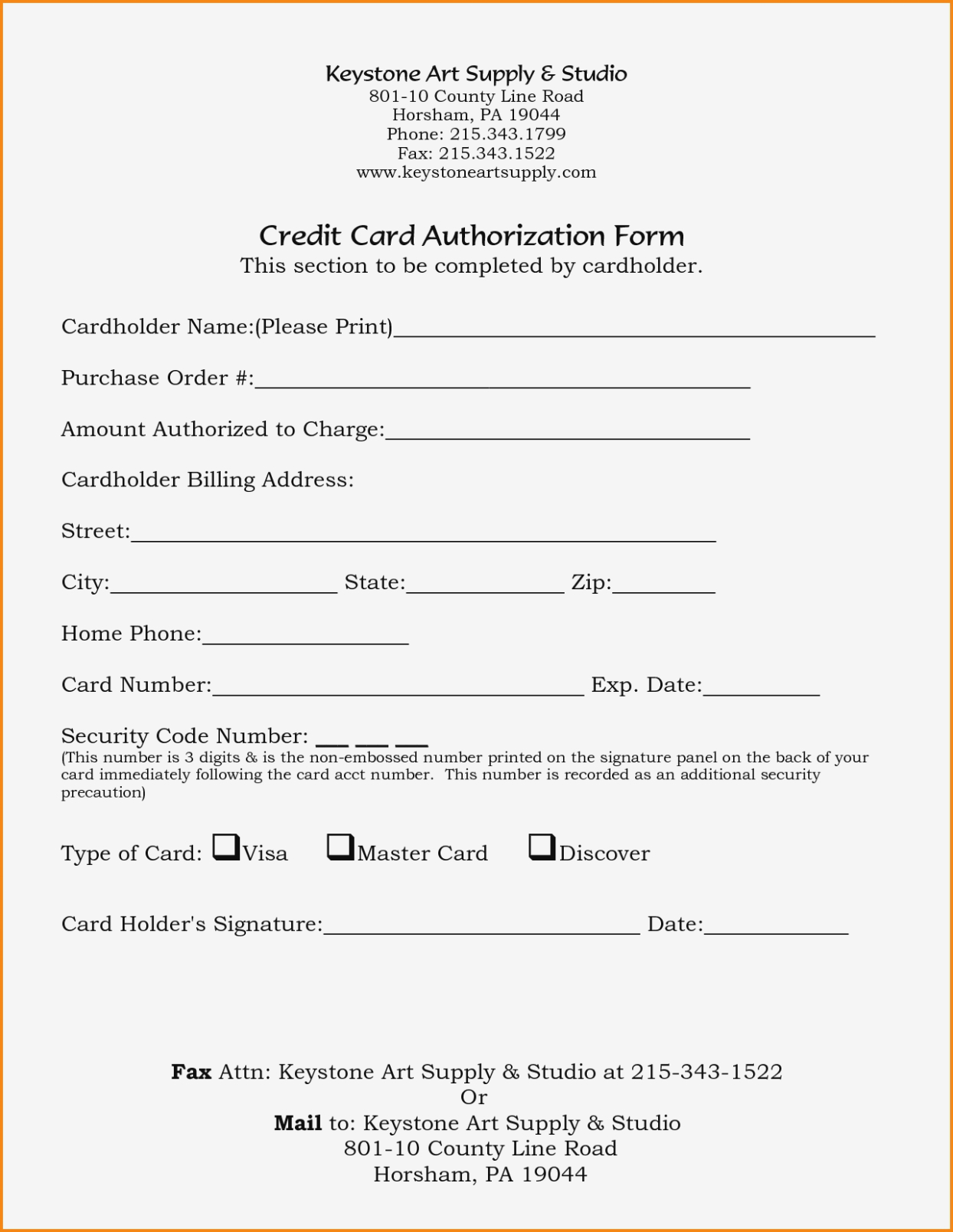 23+ Credit Card Authorization Form Template Pdf Fillable 2020!! With Credit Card Authorization Form Template Word