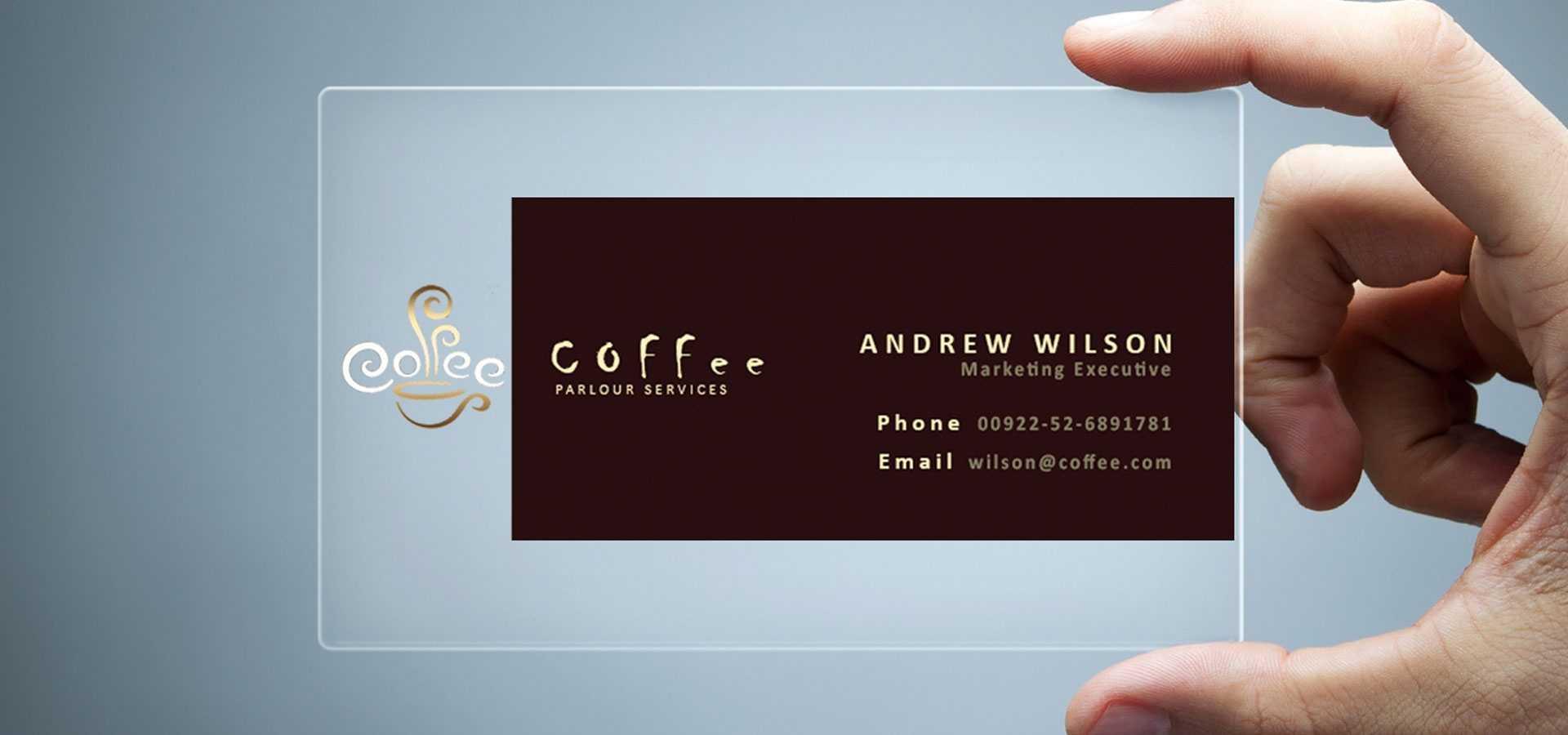 26+ Transparent Business Card Templates - Illustrator, Ms In Transparent Business Cards Template