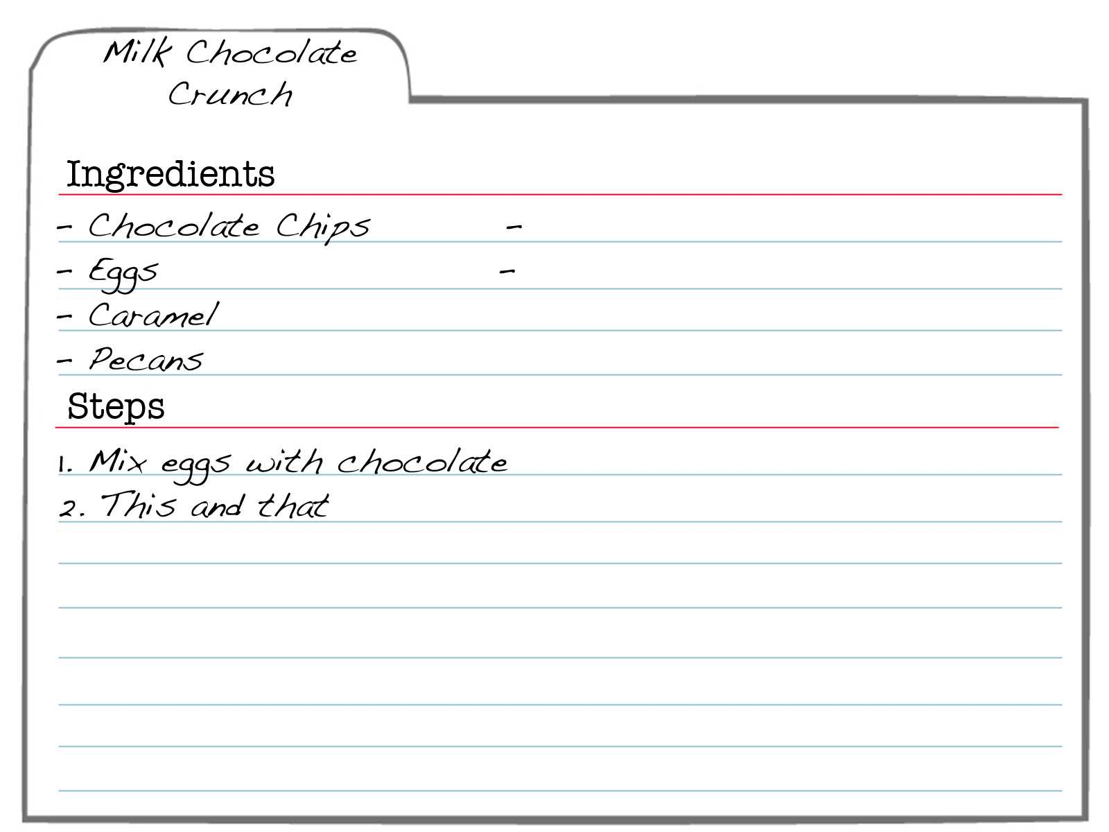 32924 Index Card Template Index Card Template Word   Wiring Pertaining To 4X6 Note Card Template