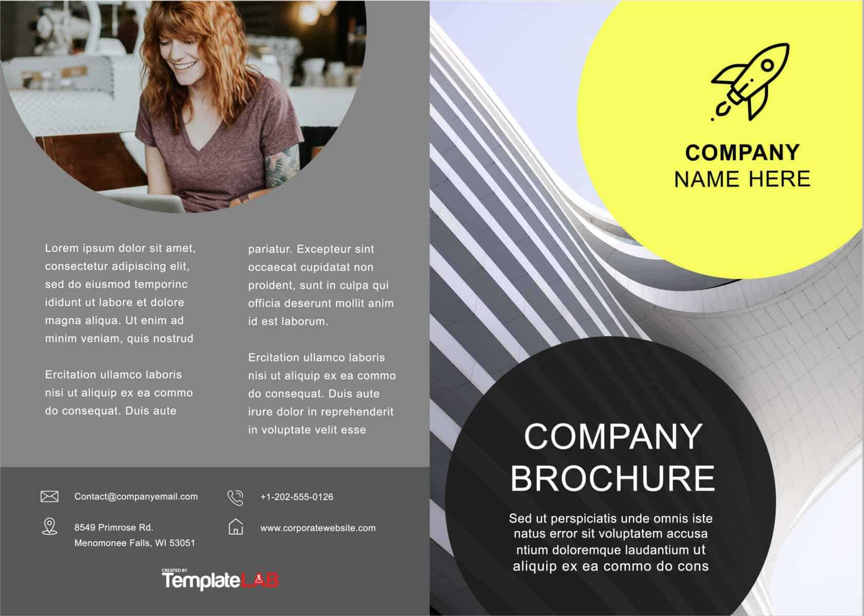 33 Free Brochure Templates (Word + Pdf) ᐅ Templatelab For Product Brochure Template Free