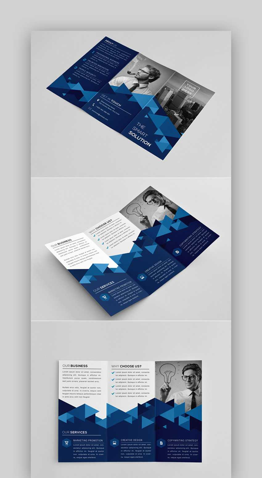 35 Best Indesign Brochure Templates – Creative Business Throughout Brochure Templates Free Download Indesign