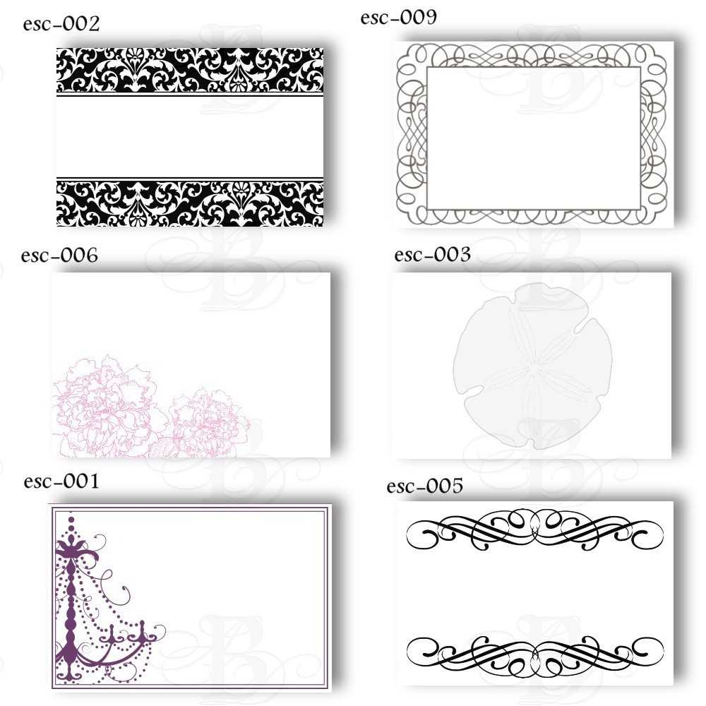 6 Best Images Of Free Printable Wedding Place Cards - Free With Regard To Wedding Place Card Template Free Word