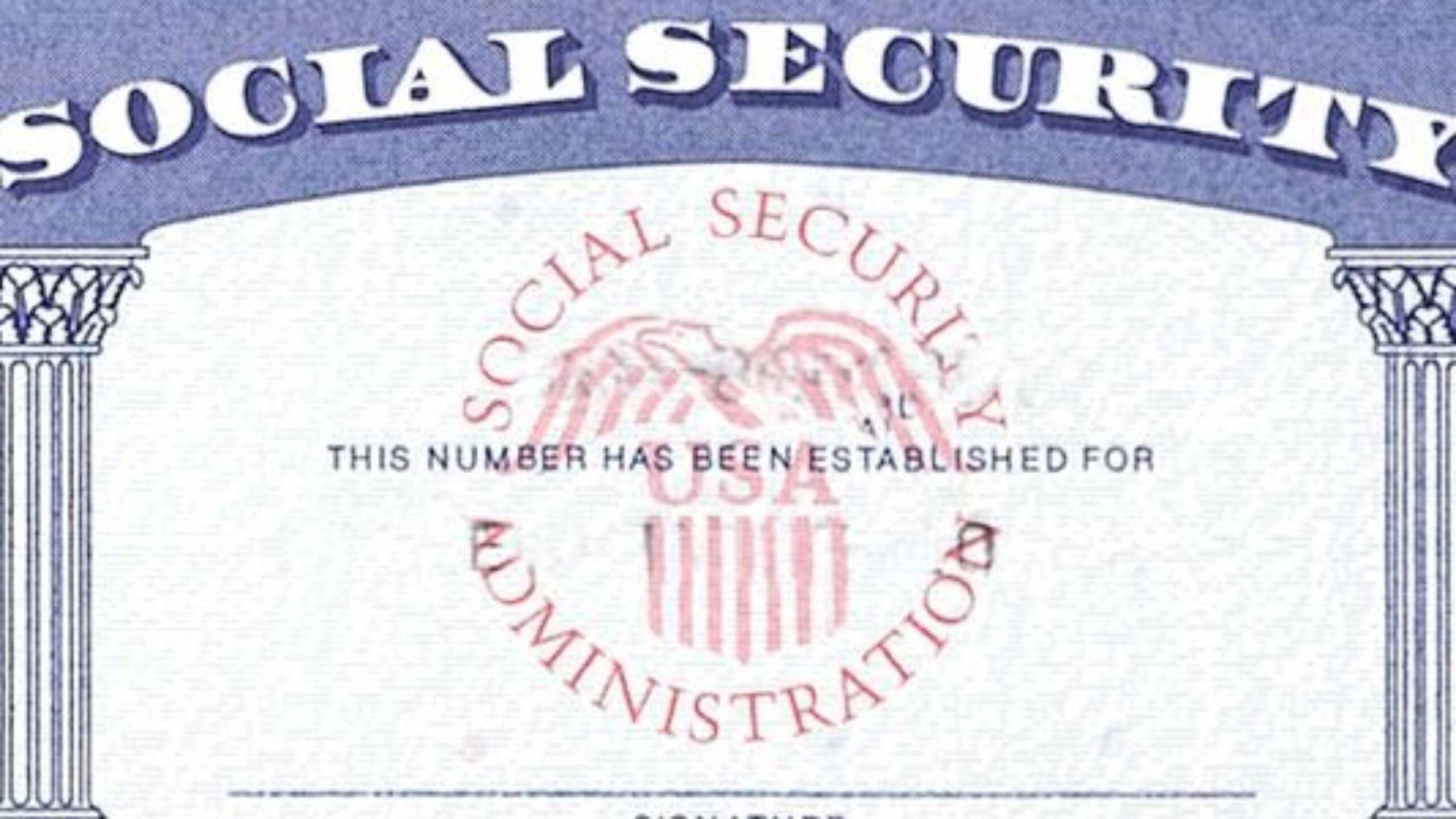 7 Social Security Card Template Psd Images - Social Security With Social Security Card Template Pdf