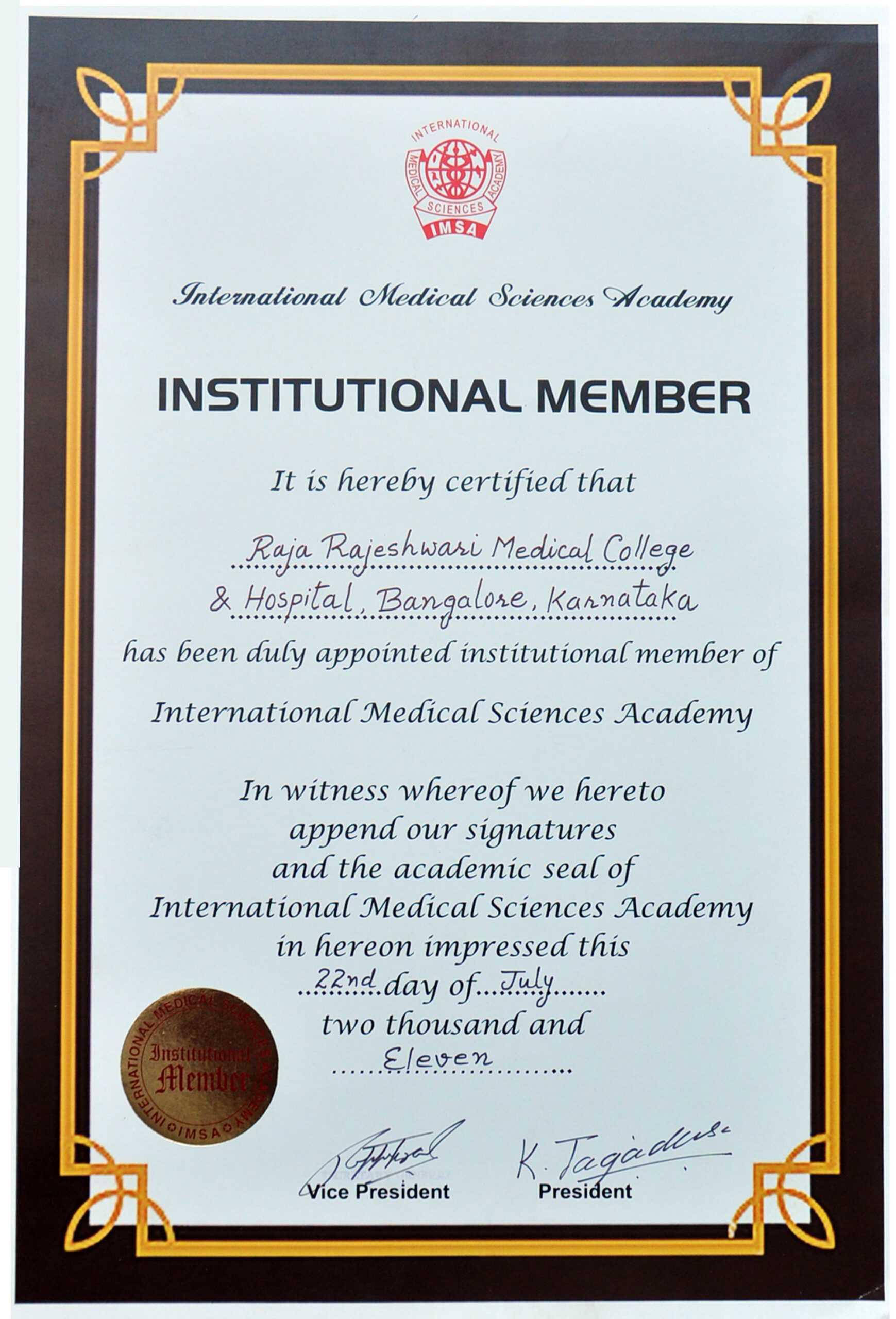 8+ Medical Membership Certificate Templates - Pdf   Free With Regard To Life Membership Certificate Templates