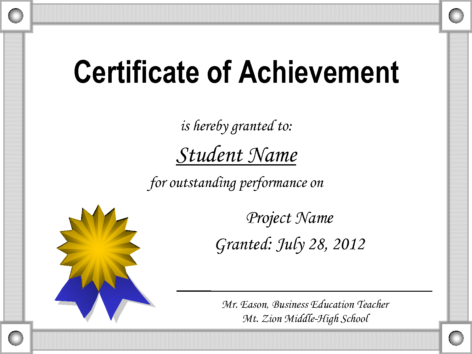 Achievement Certificate Template Word from library.itsnudimension.com