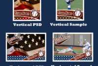 Baseball Card Template Psd Cs4Photoshopbevie55 On Deviantart intended for Baseball Card Template Psd
