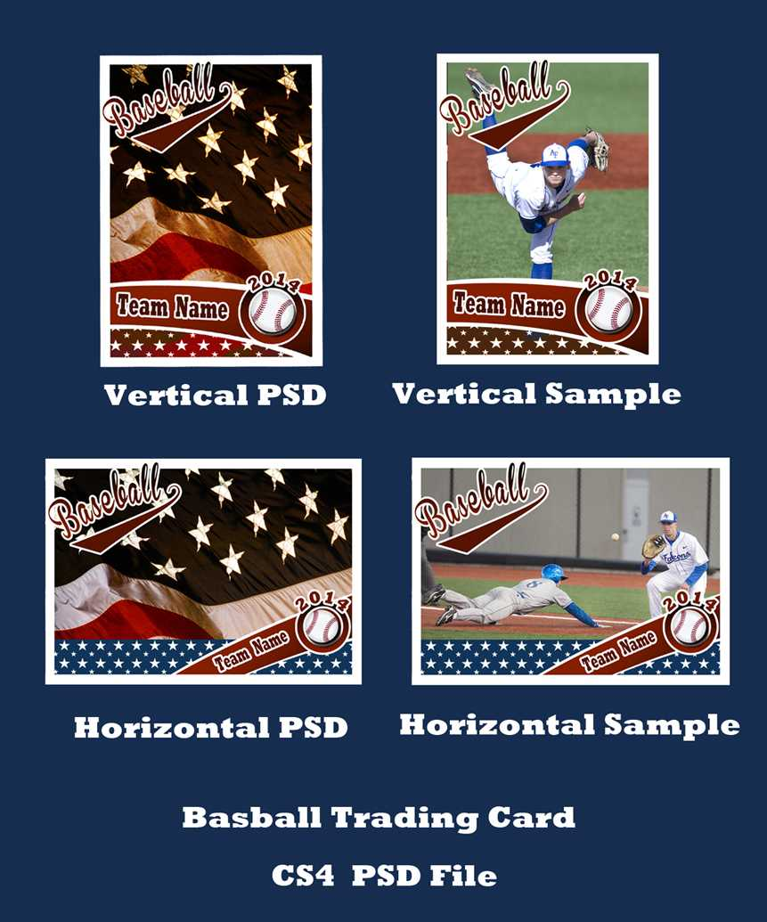 Baseball Card Template Psd Cs4Photoshopbevie55 On Deviantart Intended For Baseball Card Template Psd