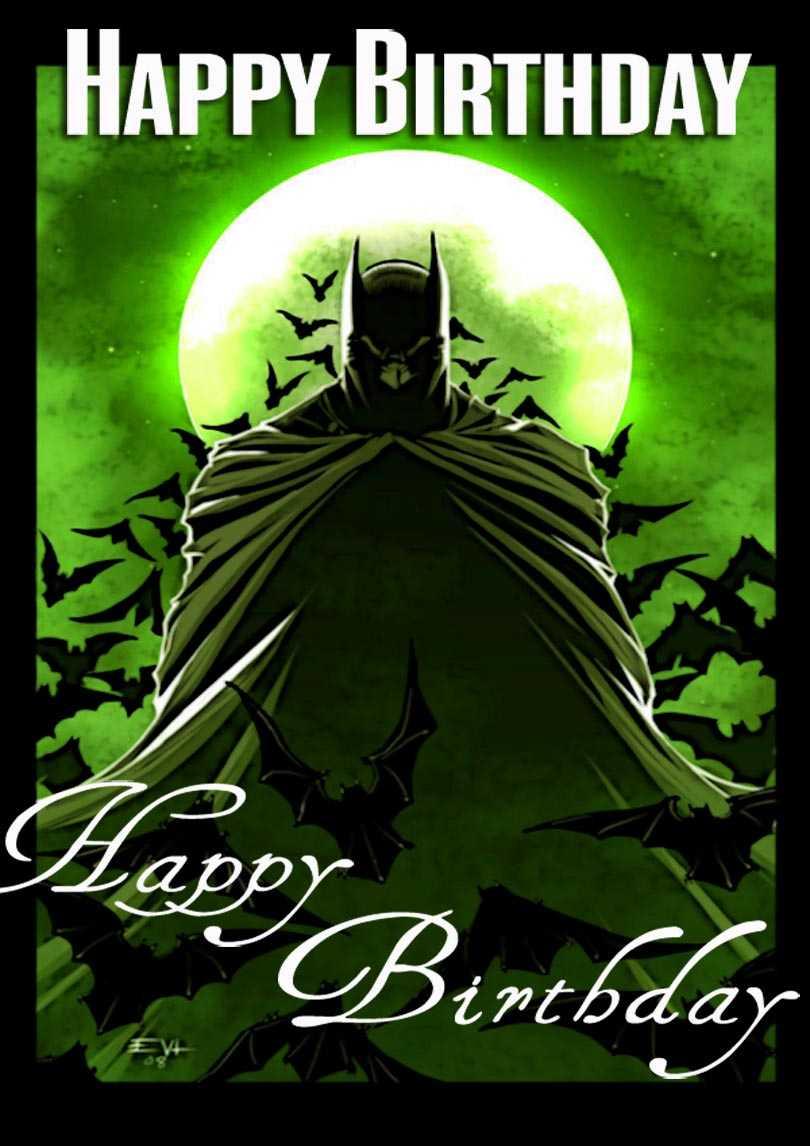 Batman Birthday Card | Free Printable Birthday Cards Pertaining To Batman Birthday Card Template