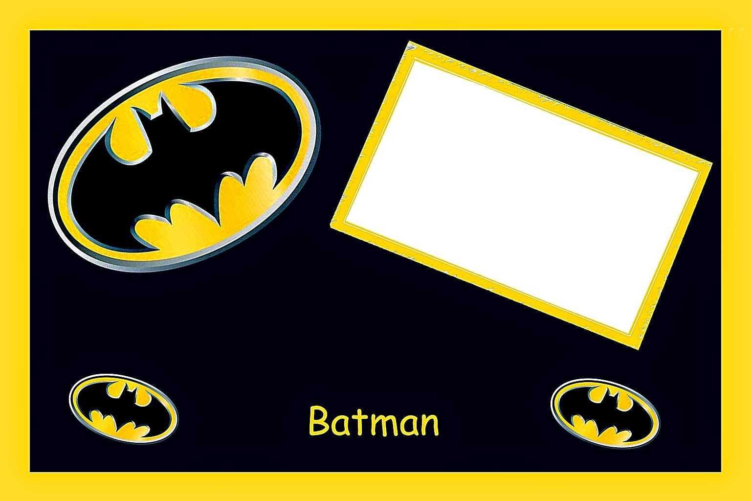 Batman Birthday: Free Printable Cards Or Invitations. - Oh Regarding Batman Birthday Card Template