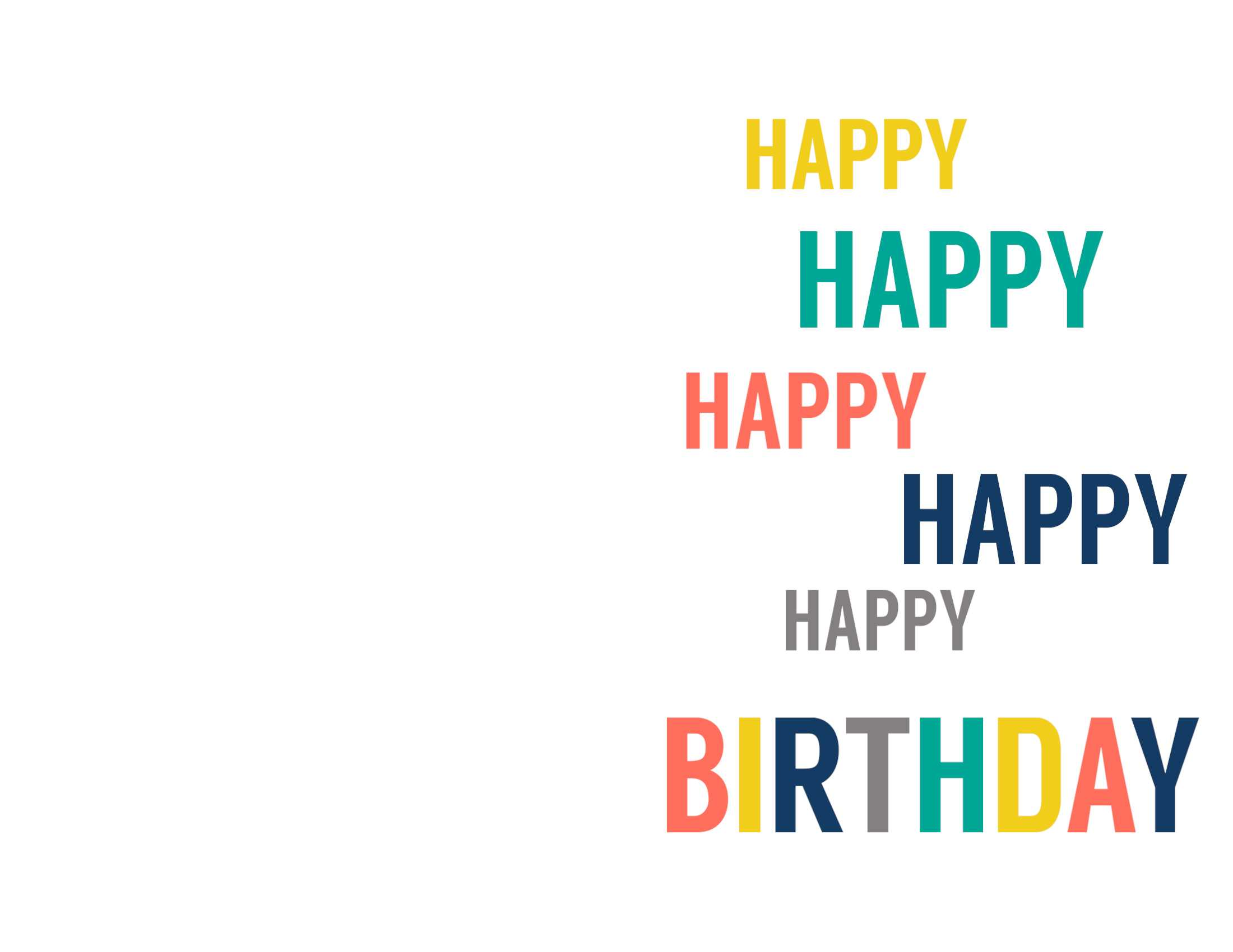 Birthday Cards Templates To Print - Calep.midnightpig.co In Foldable Birthday Card Template