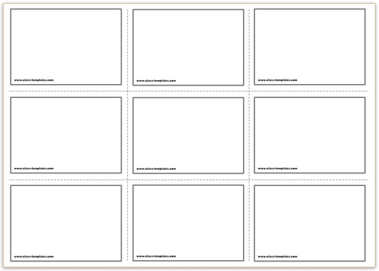 Blank Flash Cards - Calep.midnightpig.co With Regard To Free Printable Blank Flash Cards Template