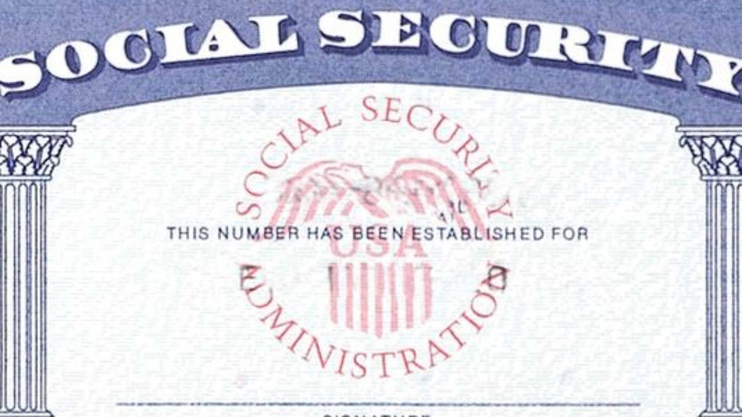Blank Social Security Card Template Download - Great Pertaining To Ssn Card Template
