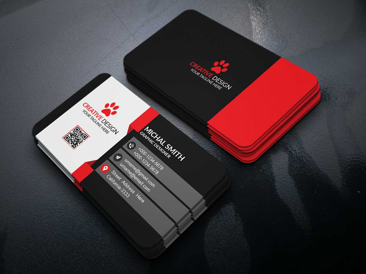 Business Card Design (Free Psd) On Behance With Regard To Visiting Card Templates Psd Free Download