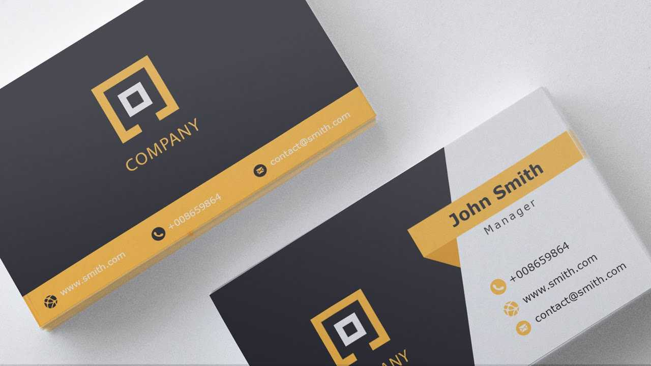Business Card Template   Free Download   1   With Templates For Visiting Cards Free Downloads