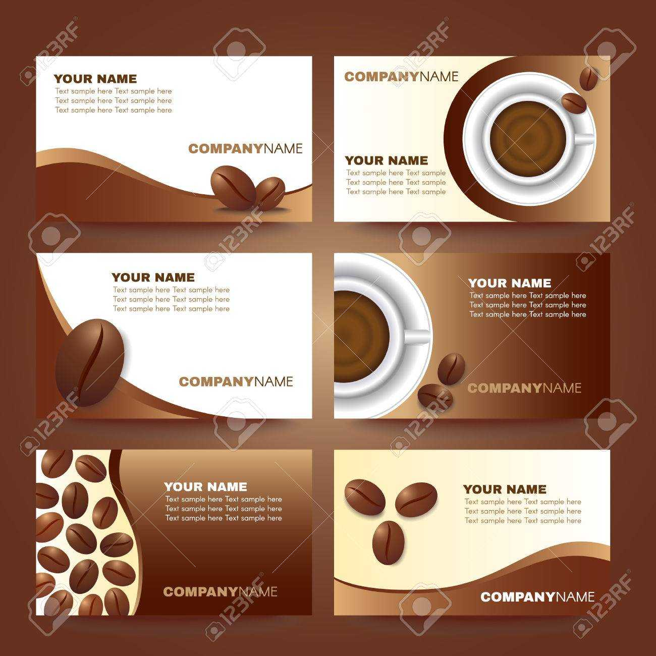 Cafe Business Card Template - Dalep.midnightpig.co Throughout Coffee Business Card Template Free