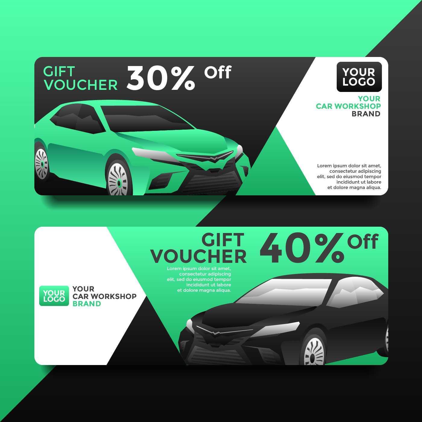 Car Business Card Free Vector Art - (270 Free Downloads) Regarding Automotive Gift Certificate Template