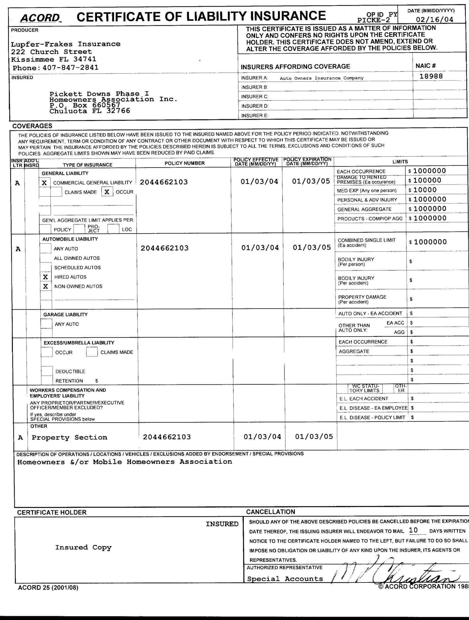 Certificate Of Liability Insurance With Acord Insurance Certificate Template