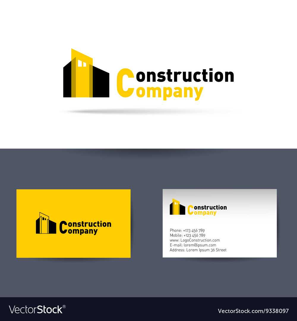 Construction Company Business Card Template With Regard To Construction Business Card Templates Download Free