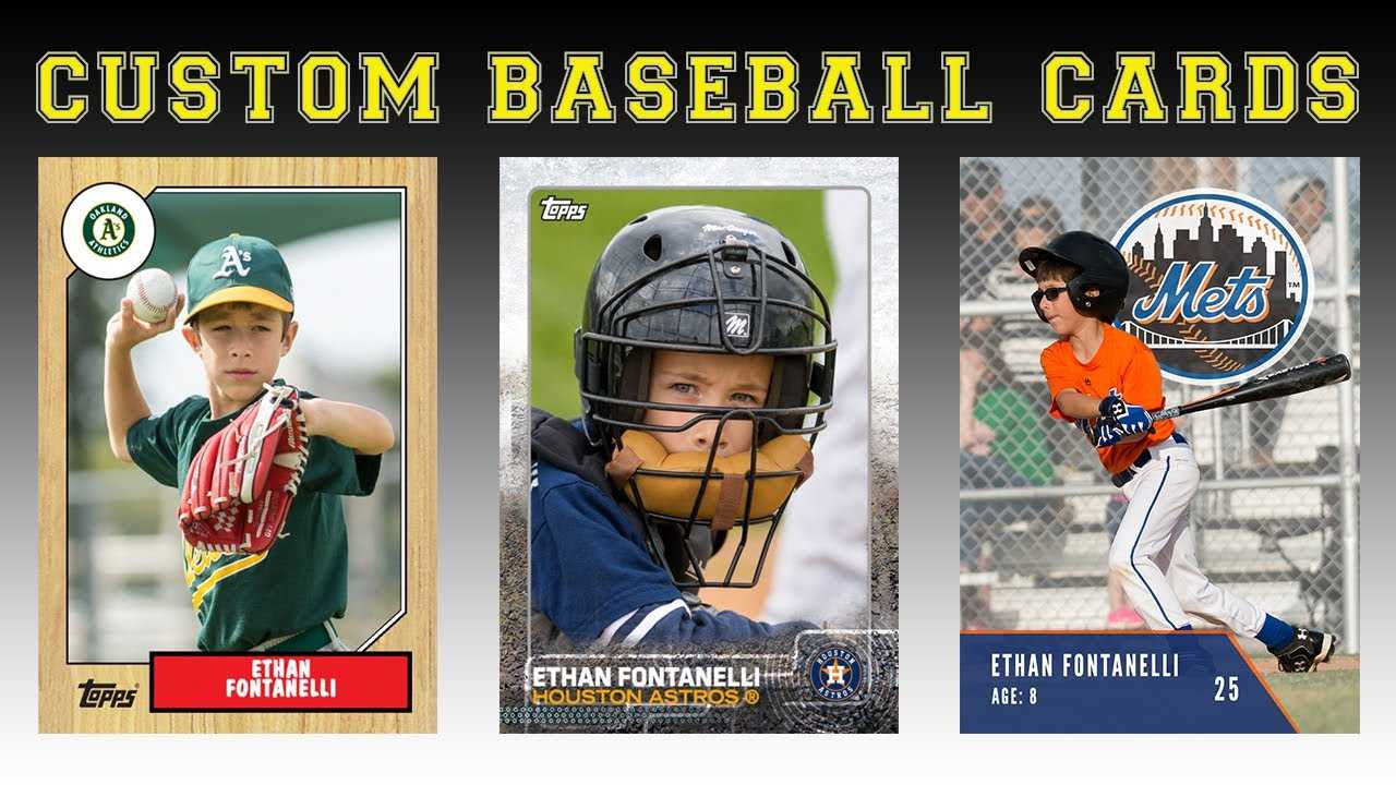 Create Your Own Baseball Cards Intended For Baseball Card Template Psd