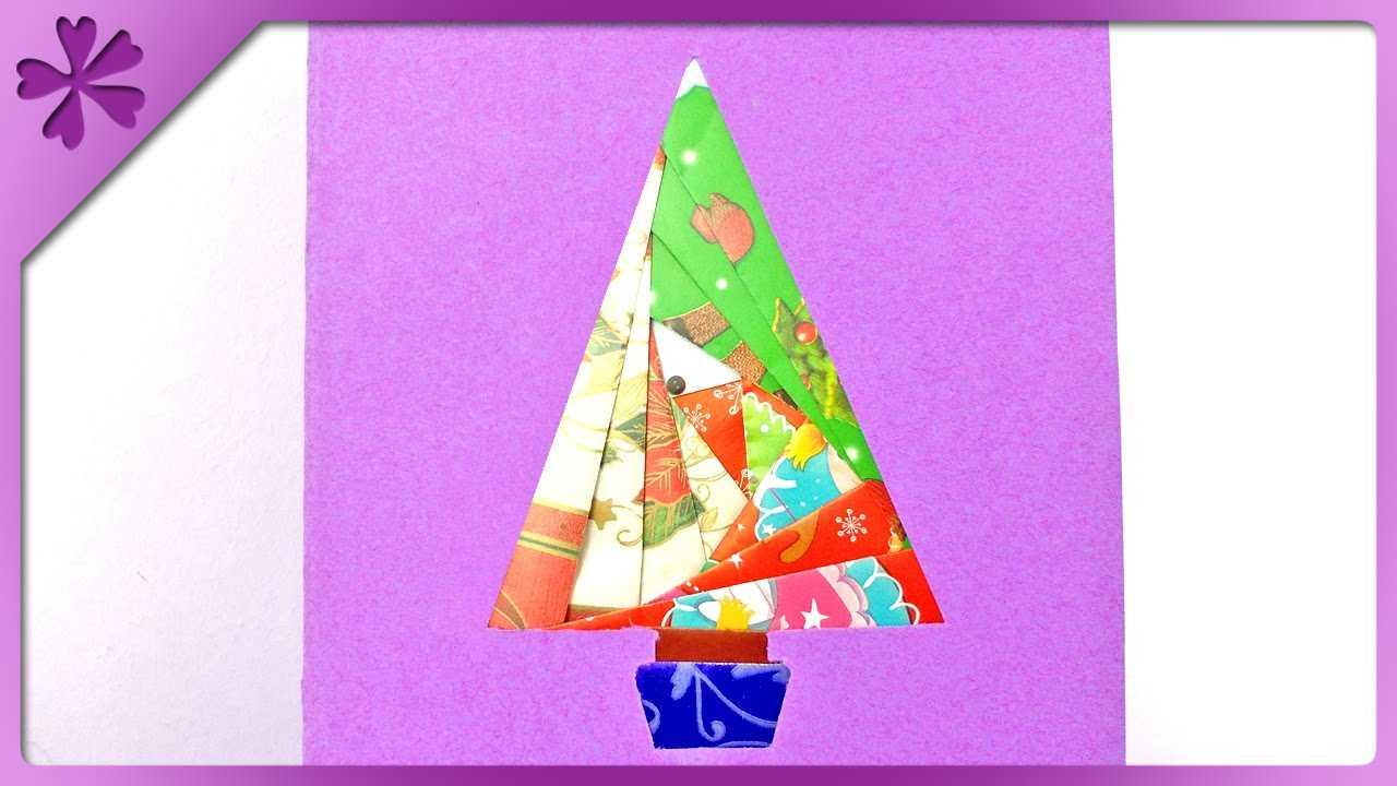 Diy Iris Folding Christmas Card (Eng Subtitles) - Speed Up #152 Regarding Iris Folding Christmas Cards Templates