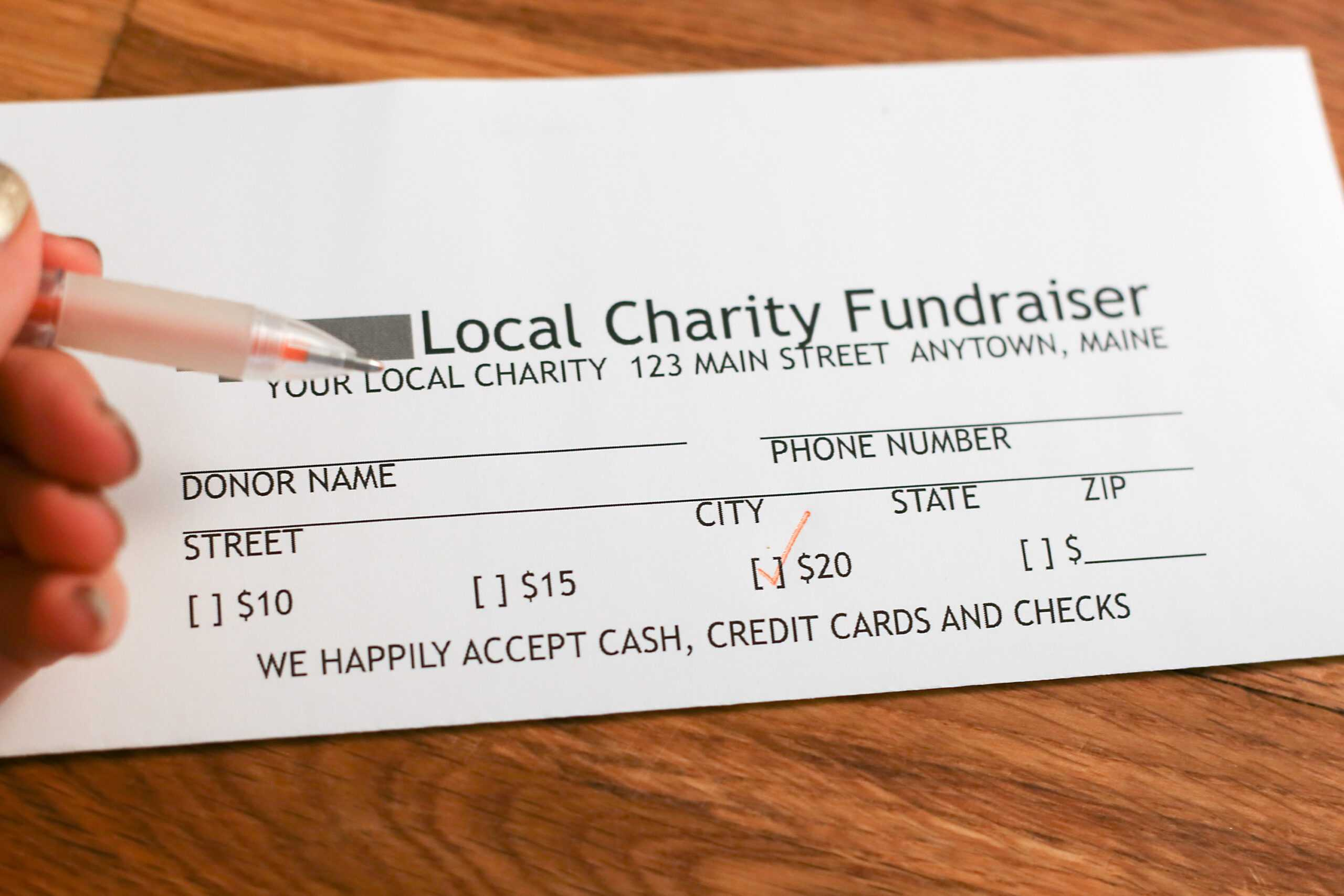 Donation Pledge Card – Calep.midnightpig.co In Free Pledge Card Template