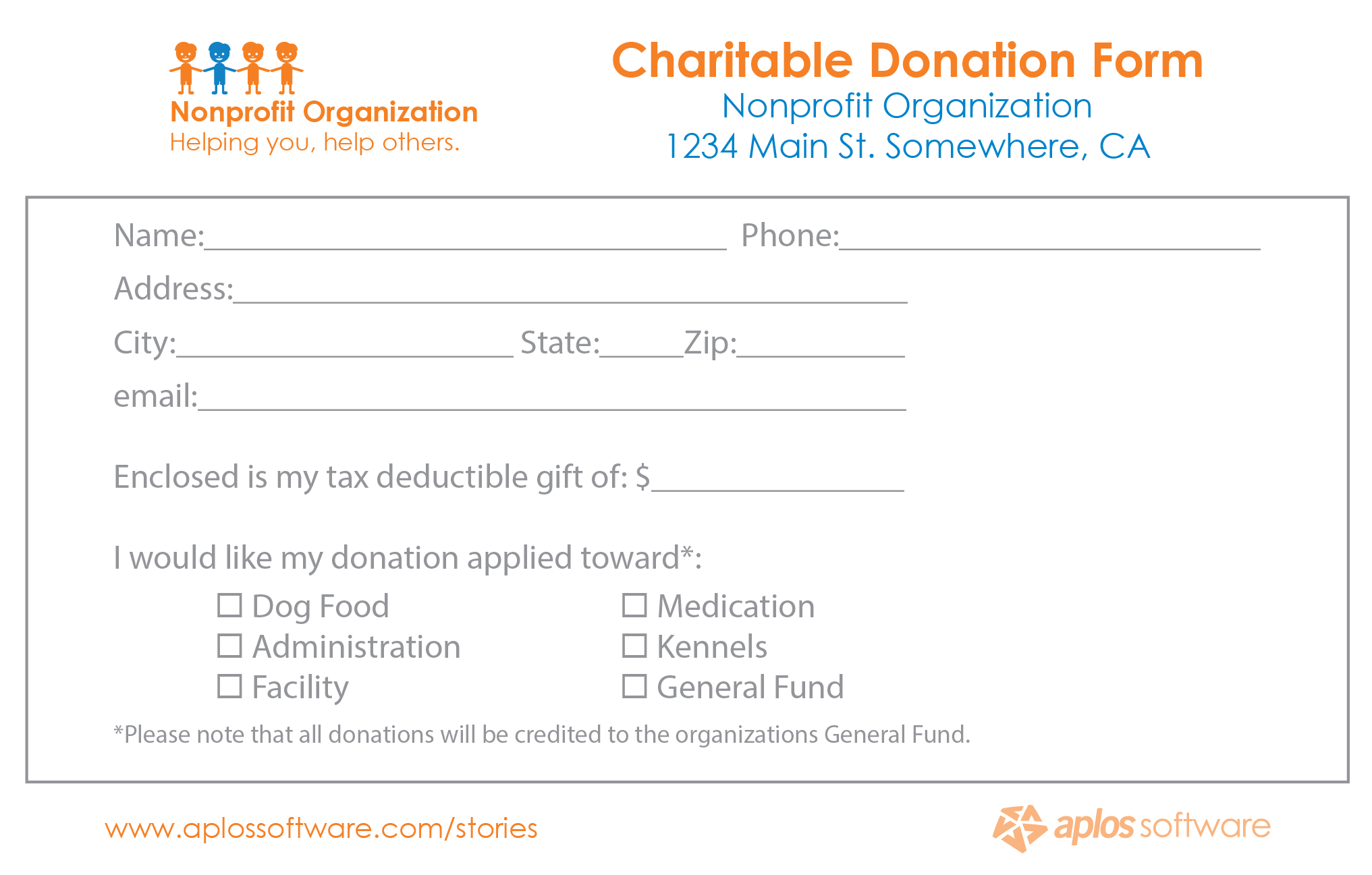 Donor Pledge Card – Calep.midnightpig.co With Free Pledge Card Template