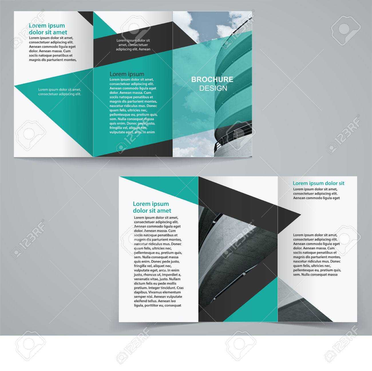 Double Sided Brochure Templates - Calep.midnightpig.co With Double Sided Tri Fold Brochure Template