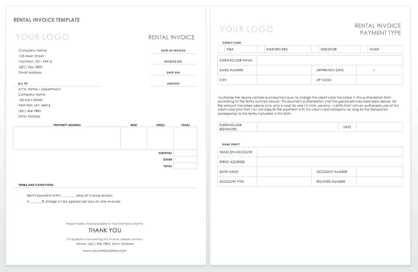 Export Invoice Template – Vmarques Regarding Chiropractic Travel Card Template