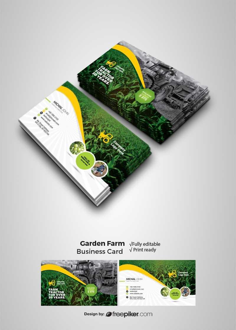 Farm Business Card Designs – Teppe.digitalfuturesconsortium With Gardening Business Cards Templates