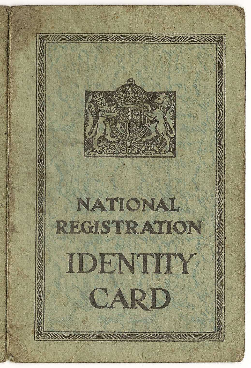 File:id Card - Wikimedia Commons For World War 2 Identity Card Template