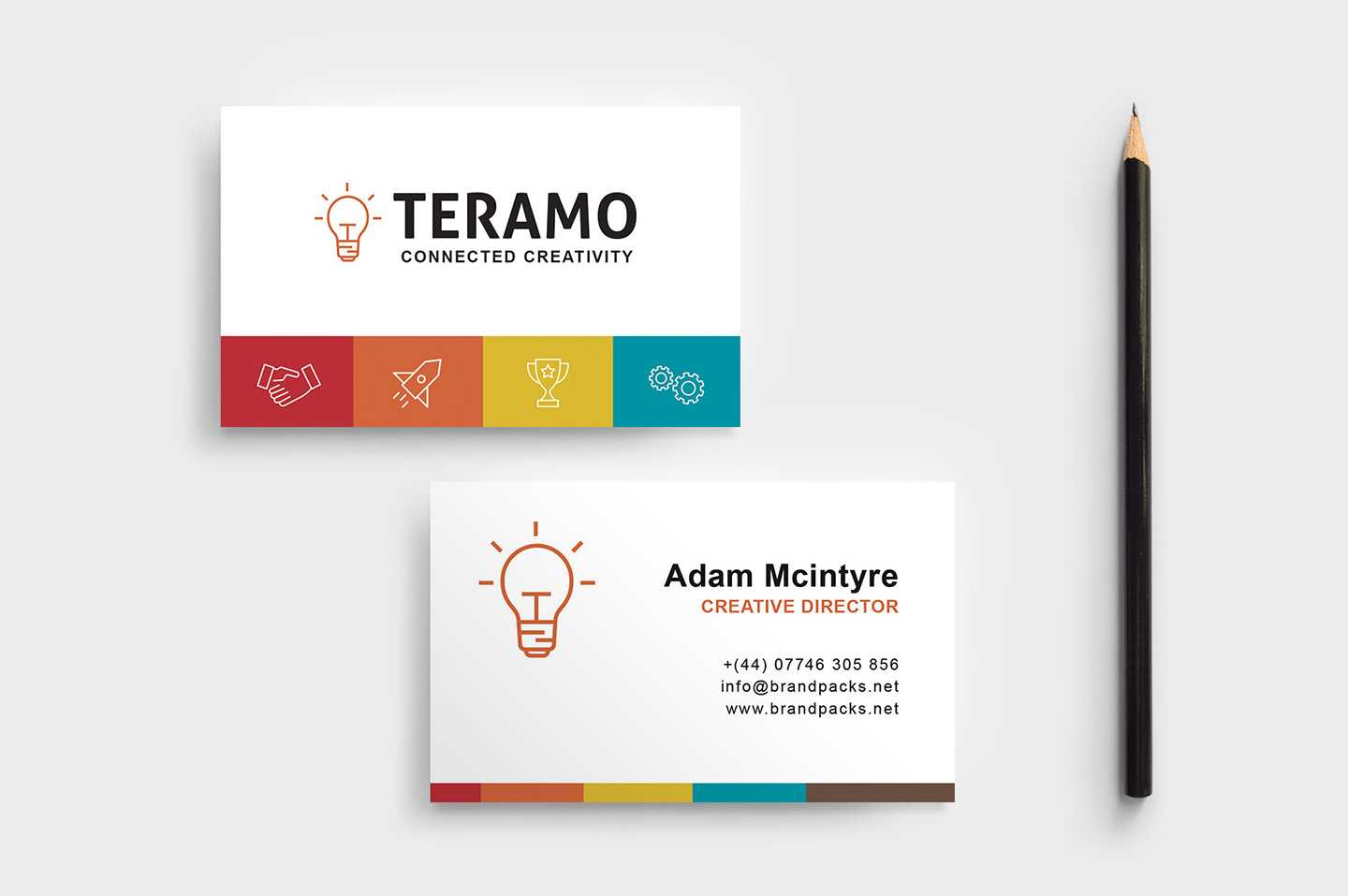 Free Business Card Template In Psd, Ai & Vector - Brandpacks With Regard To Professional Business Card Templates Free Download