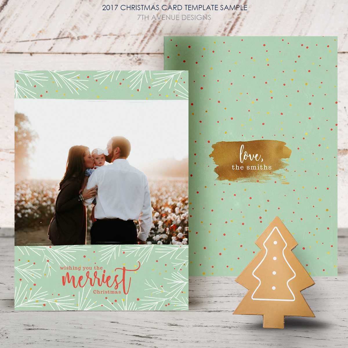 Free Christmas Card 2017 [Freecc2017] - It's Free In Free Christmas Card Templates For Photographers