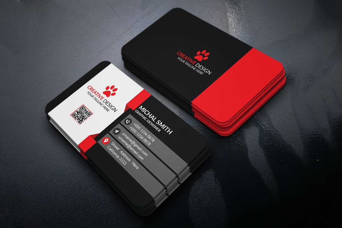Free Creatives Business Card Template - Creativetacos Intended For Unique Business Card Templates Free