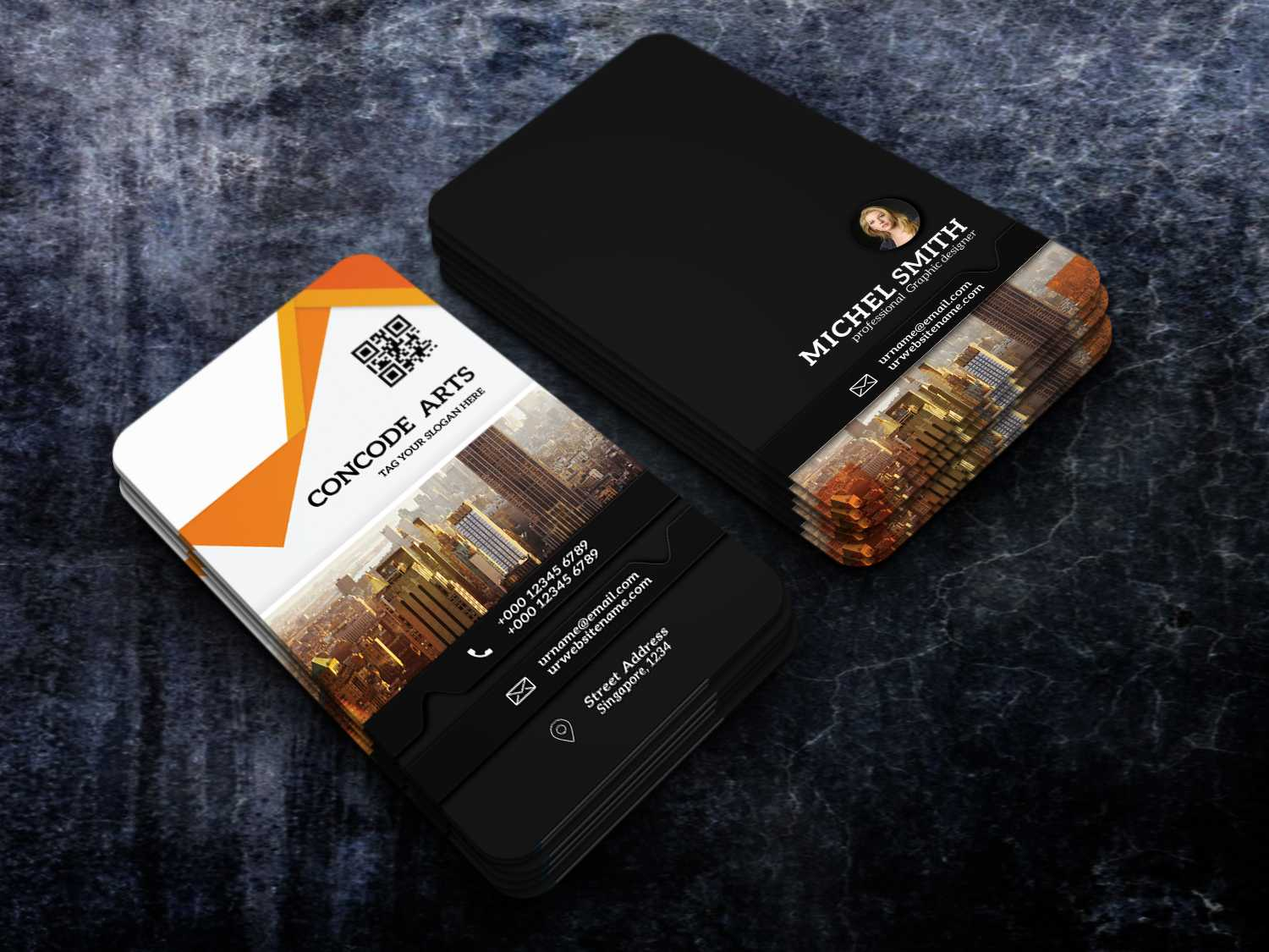 Free Download Professional Building Construction Business With Regard To Construction Business Card Templates Download Free