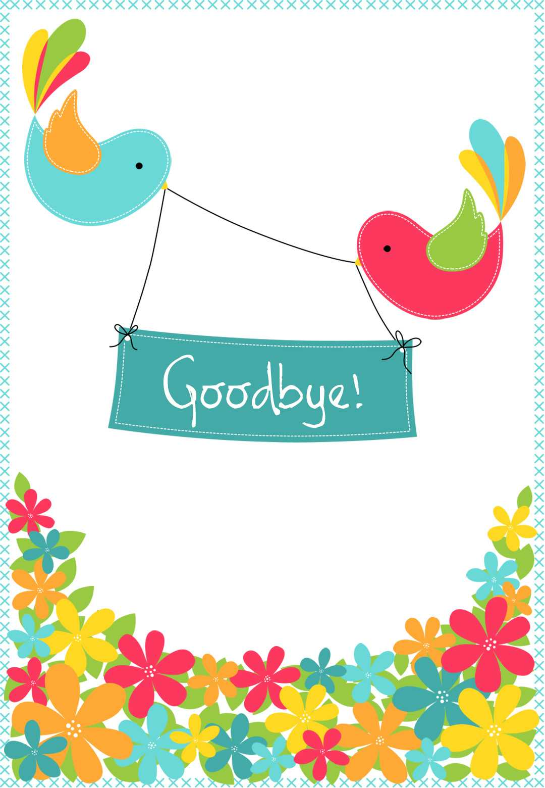 Free Goodbye Cards - Calep.midnightpig.co Inside Good Luck Card Template