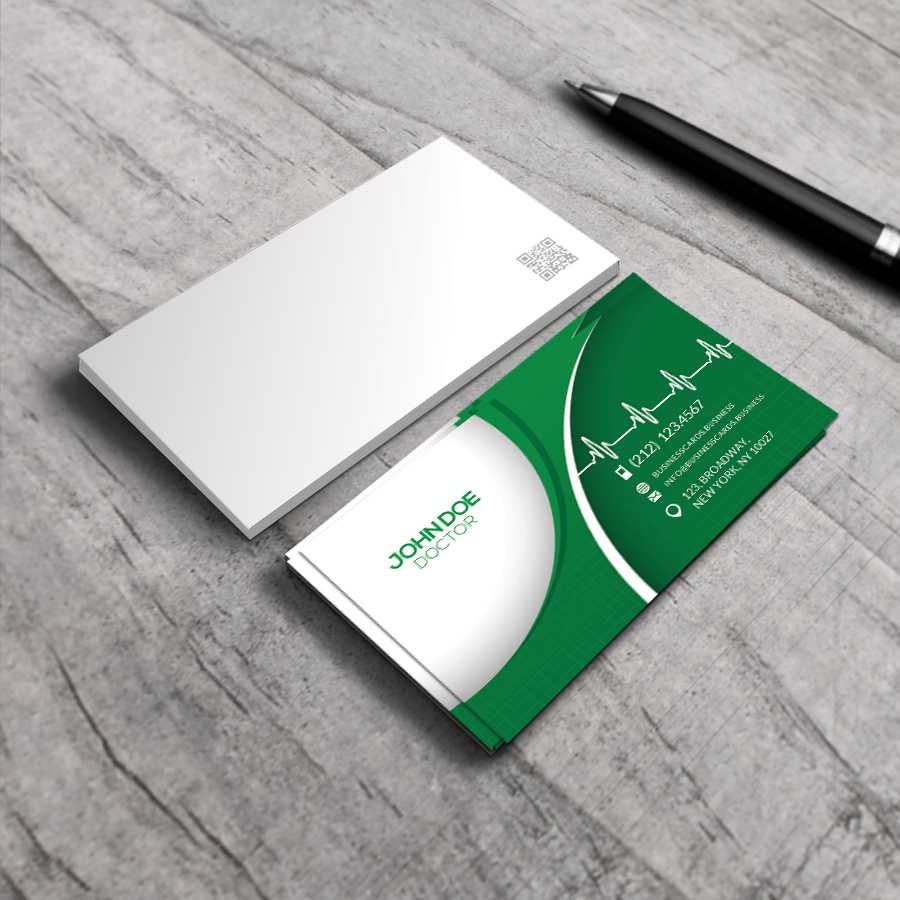 Free Medical Business Card Psd Template : Business Cards For Medical Business Cards Templates Free