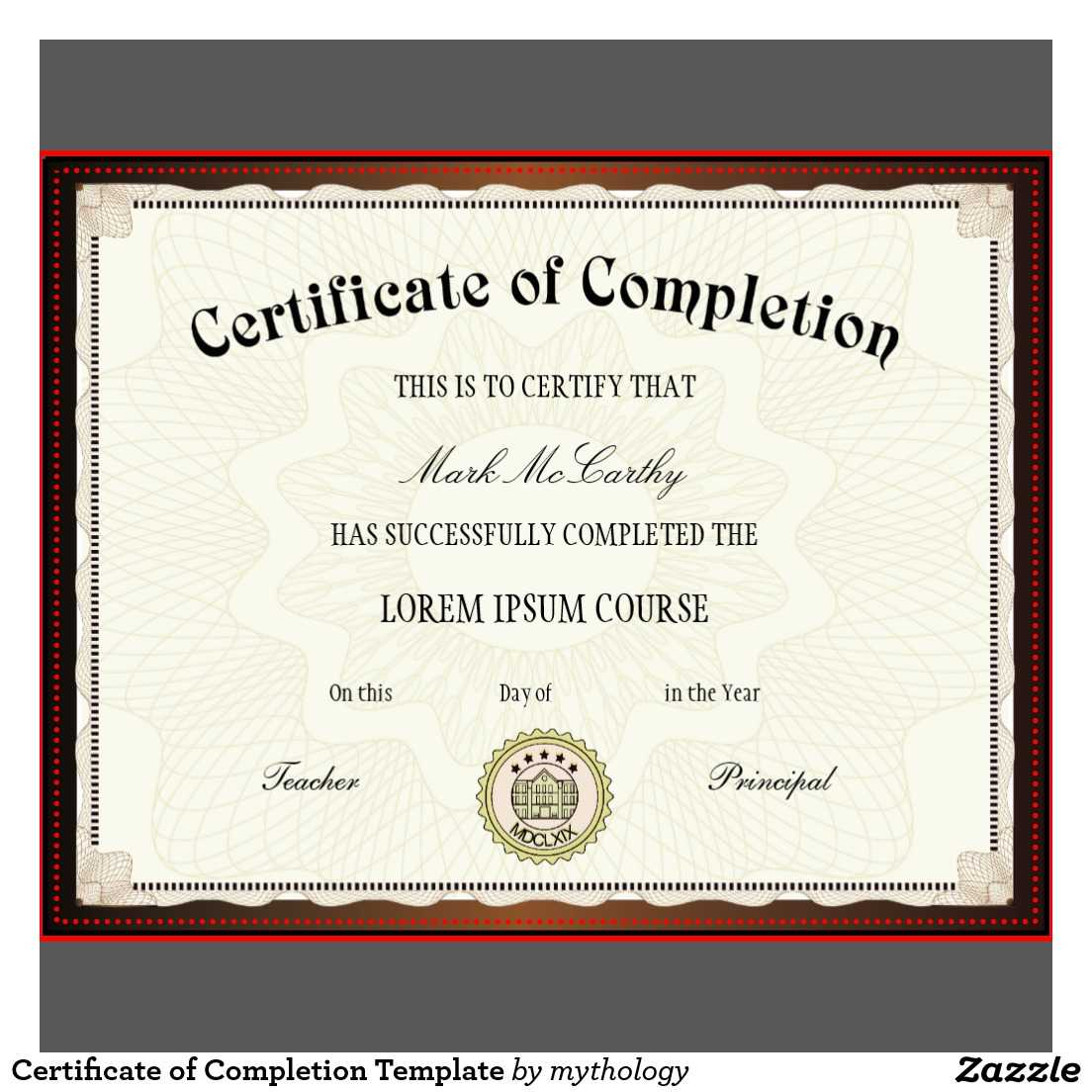 Free Printable Certificates | Certificate Templates Within Certificate Of Completion Template Free Printable