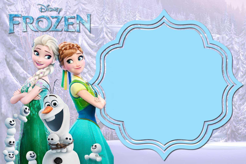 Free Printable Frozen Invitation Templates – Bagvania With Frozen Birthday Card Template