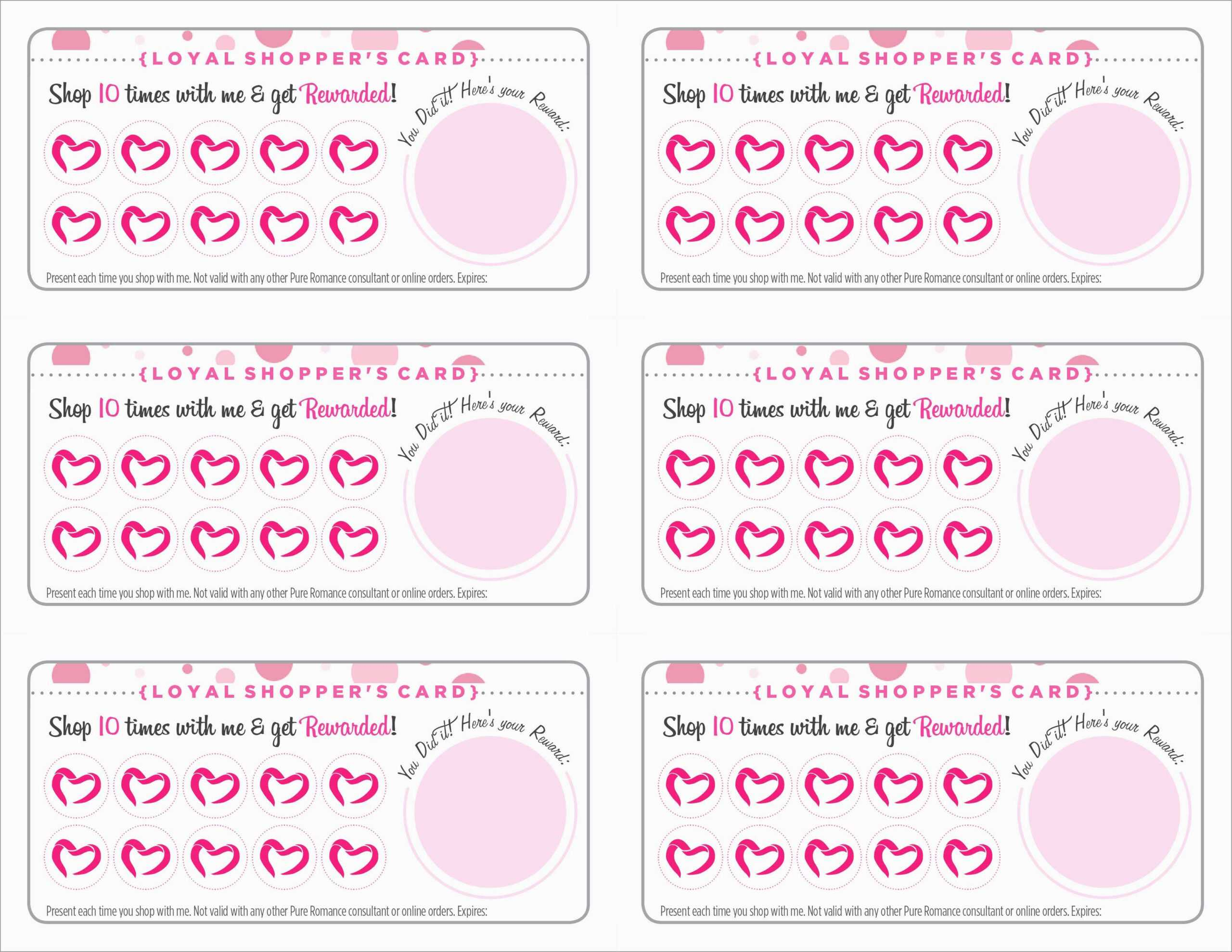 Free Printable Loyalty Card Template – Calep.midnightpig.co Pertaining To Customer Loyalty Card Template Free