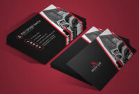 Free Real Estate Business Card Psd Template with regard to Real Estate Business Cards Templates Free