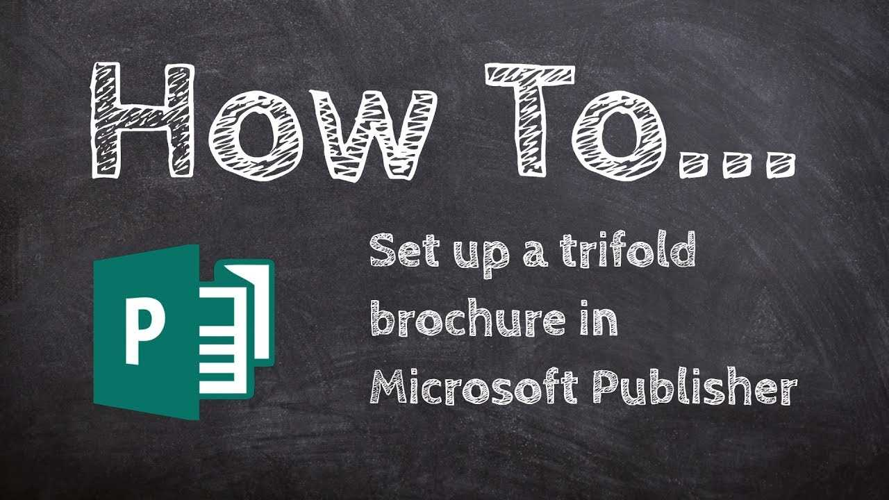 How To Make A Trifold Brochure In Microsoft Publisher Throughout Tri Fold Brochure Publisher Template