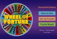 How To Make A Wheel Of Fortune Game On Powerpoint - Xtos intended for Wheel Of Fortune Powerpoint Template