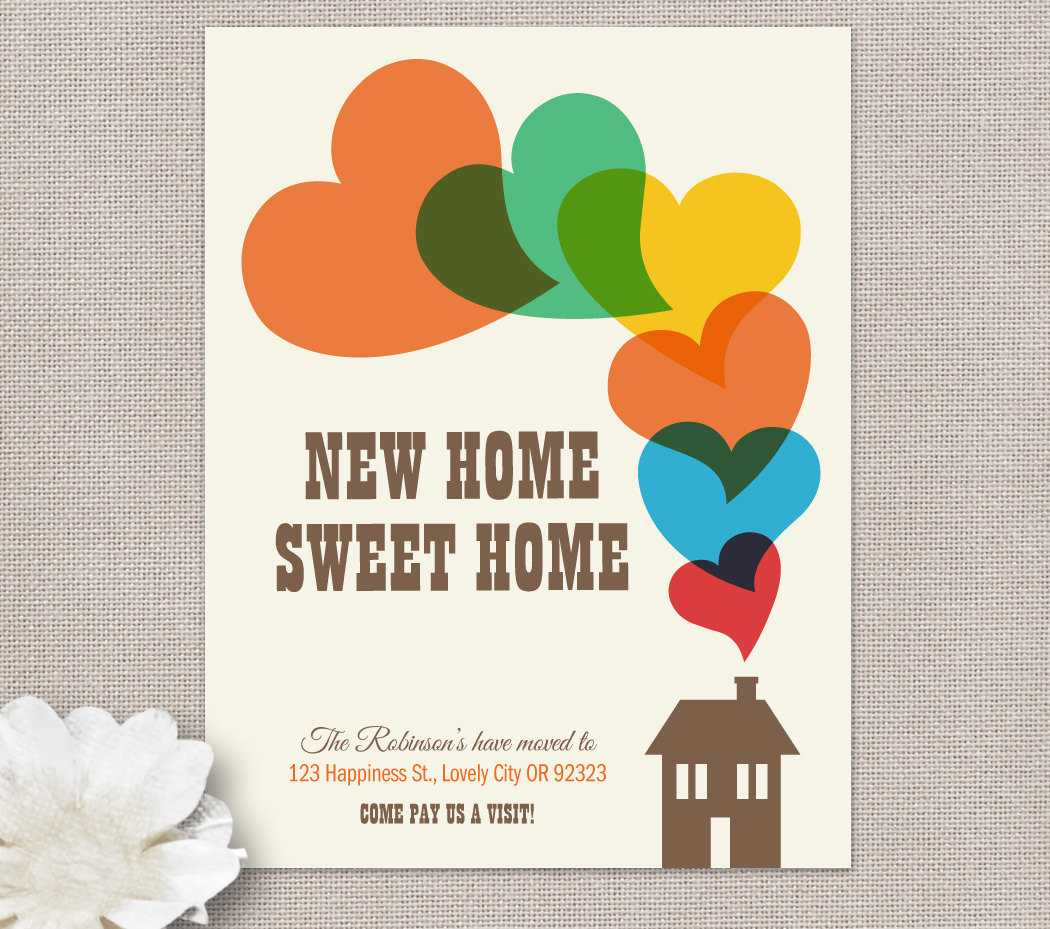 Moving Home Cards Template ] - Moving Home Inventory In Moving Home Cards Template