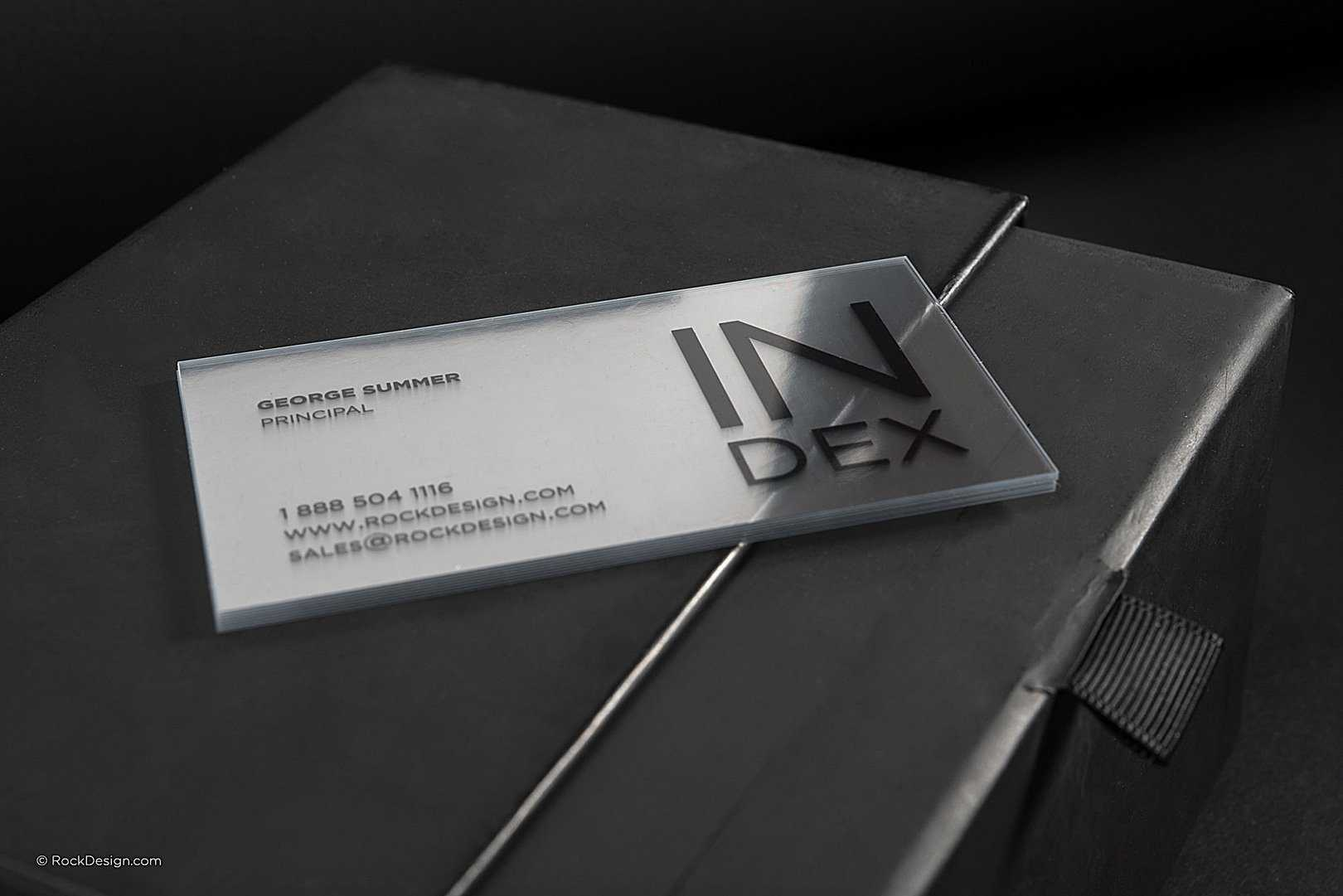 Over 100 Free Online Unique Templates | Rockdesign With Transparent Business Cards Template